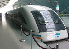 Maglev Energy Efficient Trains
