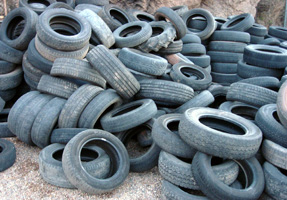 Recycling Rubber Tire