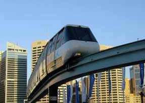 Eco Friendly Monorail